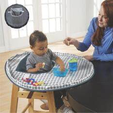 Melindungi Bayi Makan untuk Mencegah Bayi Membuang Hal-hal Bahan Kain Tahan Air untuk Makan Kursi Kursi Kursi Booster Baby Feeding Mat Baby-Intl Hanyu