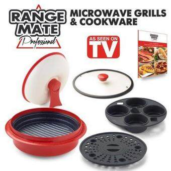 Est Range Mate Pro Nonstick Microwave 5 In 1 Grill