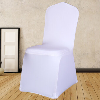Restaurant hotel restaurant dining table seat sets banquet weddingpiece white stretch chair sets stool sets cover