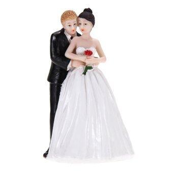 product rose bride groom couple figurine
