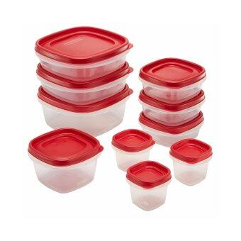 Rubbermaid Easy Find Lids Food Storage Container, 20-Piece Set