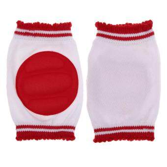Safety Crawling Elbow Cushion Infant Toddlers Baby Knee PadsProtector Red