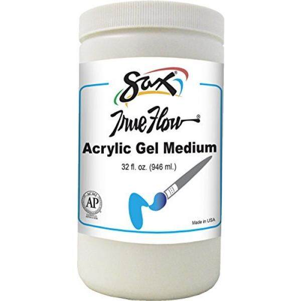 Sax True Flow Acrylic Gel Medium - 1 Quart - intl