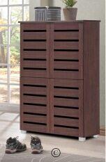 hallway entry furniture. sc5524 4 doors shoe cabinet walnut hallway entry furniture r