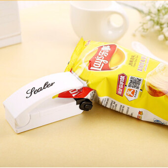 Sealing Machine Magic Portable Household Sealer Mini Snack PlasticBag Sealing Machine