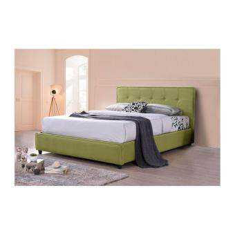 Sg Tan Green Ontario Divan Bed Without Mattress Lazada Malaysia