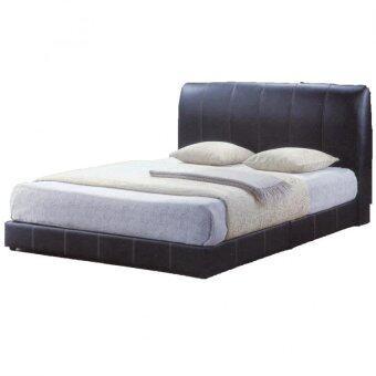 Sg tan queen size divan bed black color lazada malaysia for Queen size divan