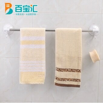 Shuangqing 60cm bathroom shelf bathroom towel hanging rod towel rack