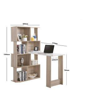 SMASIS AW6165A L-SHAPE STUDY TABLE