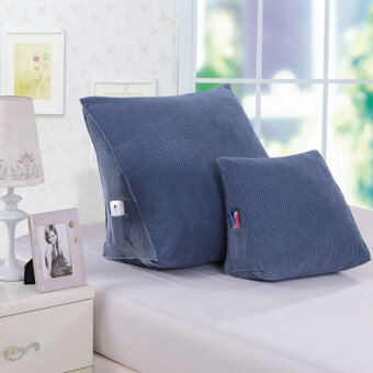 Sofa cushion pillow triangle cushions bedside big cushion officewaist back pad bed pillow neck pillow