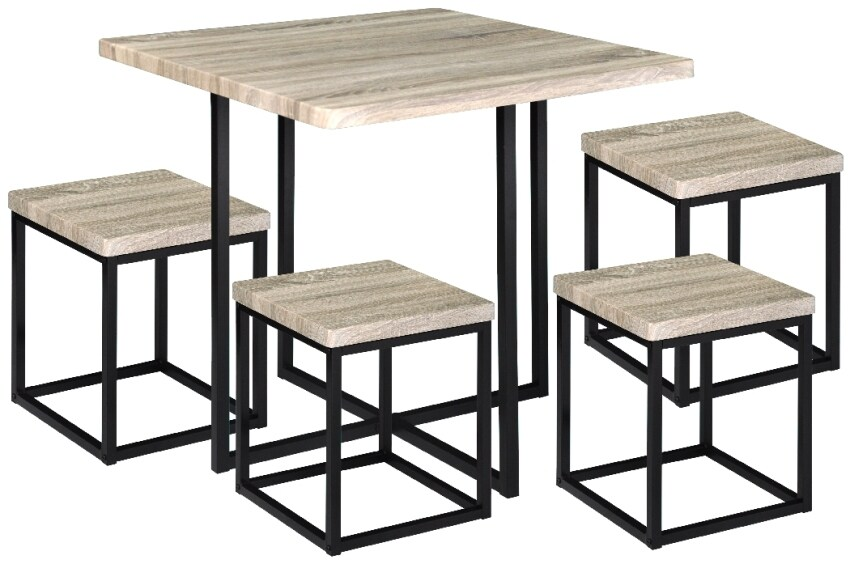 Ssf Ki Vaha Table 4 Stools Coffee 11street Malaysia Dining Set