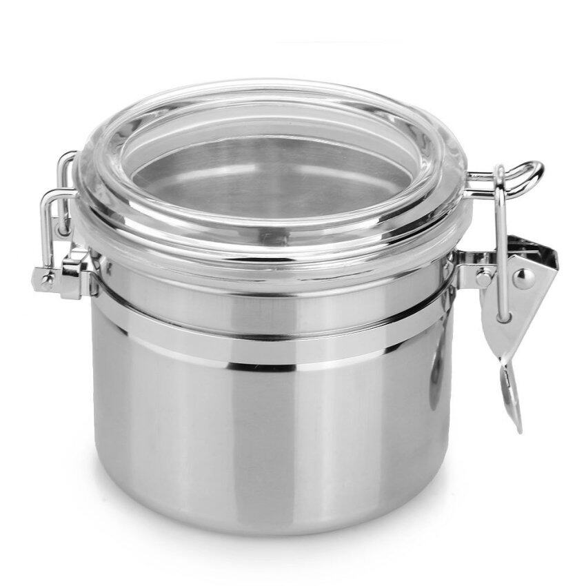Airtight Stainless Steel Cabinet ~ Toyogo double side latch air tight storage food container