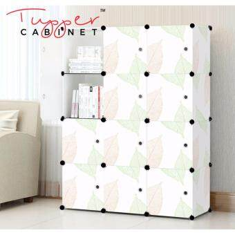 Tupper Cabinet 12 Cubes DIY Storage Cabinet- Leaf Design