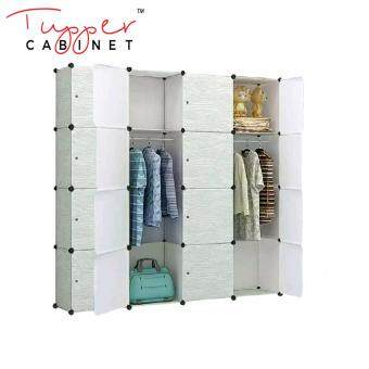 Tupper Cabinet 16 Cubes Wood Design DIY Wardrobe