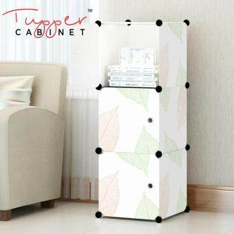Tupper Cabinet 3 Cubes DIY Storage Cabinet- Leaf Design