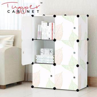 Tupper Cabinet 6 Cubes DIY Storage Cabinet- Leaf Design