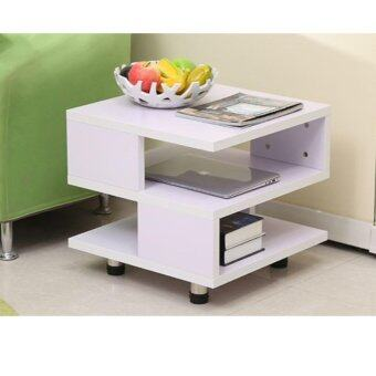 Two-Tier Side Table (White)