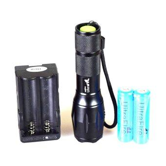 UltraFire LED Flashlight CREE T6 2000 Lumens Torch Light BlackWaterproof Diving Lamp