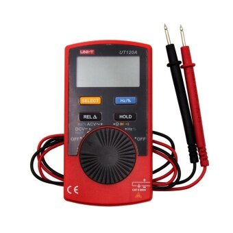 UNI-T UT120A Pocket Size Type Digital Multimeters 4000 CountDisplay Auto Range Continuity Buzzer DC Voltage Meters Testers