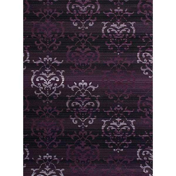 United Weavers of America Dallas Countess Rug, 5 x 8, Plum - intl
