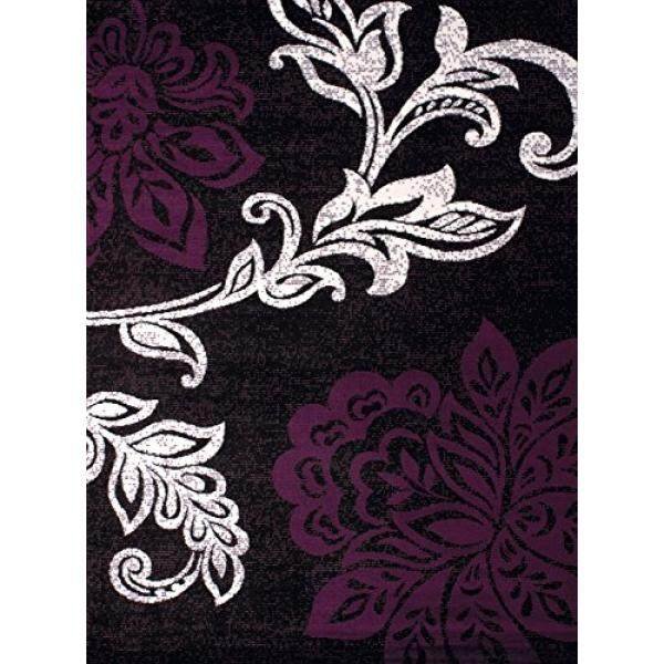 United Weavers of America Dallas Trousseau Rug, 23 x 8, Plum - intl