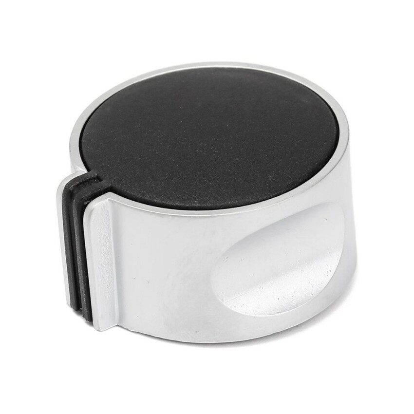 Universal Silver Gas Stove Knobs Cooker Oven Hob Kitchen Switch Control Metal Type 302 Button - intl