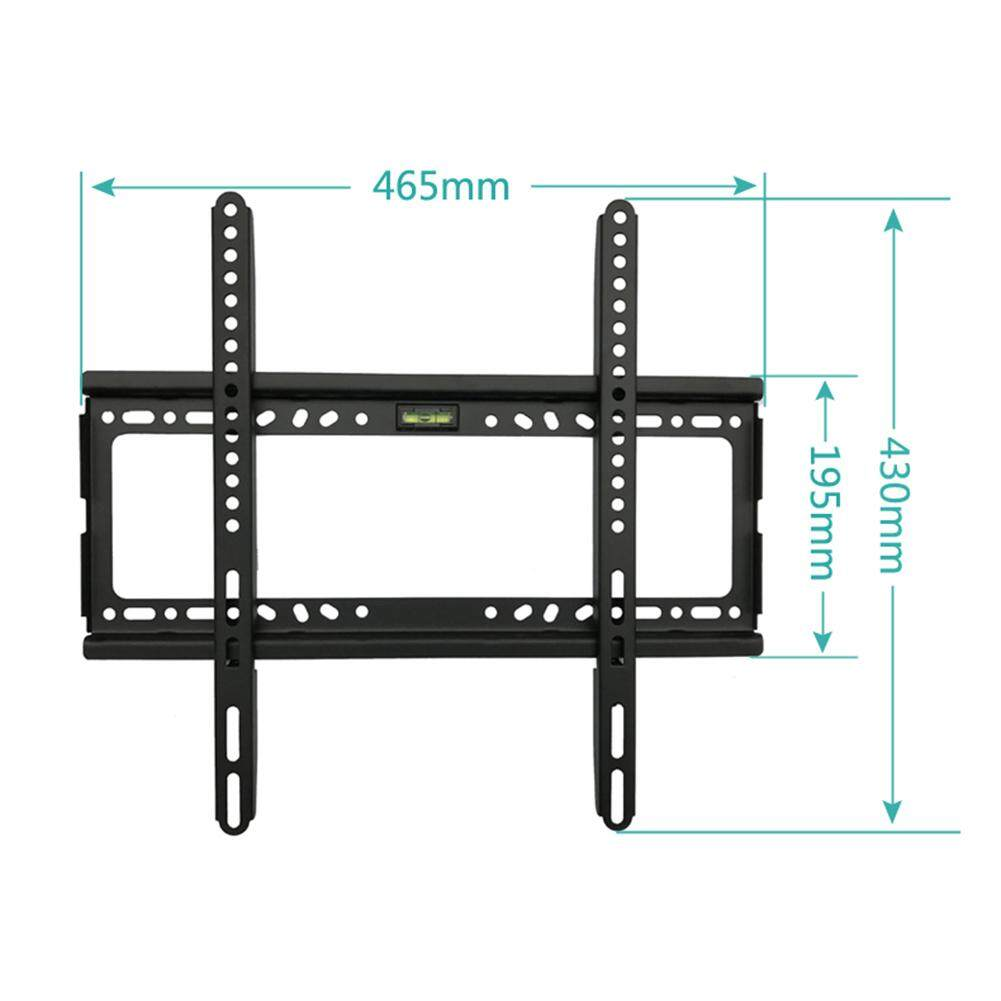 VEECOME TV Wall Mount Bracket for Most 26-55 Inch LED, LCD and Plasma TVs, Up to VESA 400 x 400mm and 100 LB/50 KG Loading Capacity, Low Profile - intl