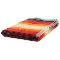 Woolrich Unisex 40X70 BEACH TOWEL, FIESTA RED STRIPE, 40X70