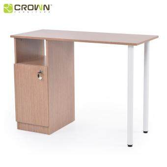Zome ST1201 4ft Study Table / Home Office Desk with drawer - Urban Oak