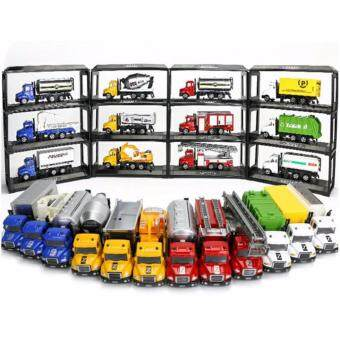 1/64 12 Designs Kids Children Truck Lorry Toy Wheels Can MoveUtility Vehicle Excavator truck