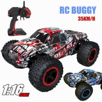 2.4GHz RC Vehicles Rock Climbing Buggy 4WD Big Foot Band Monster Truck Remote Control Off-Road RC Cars Toys Car 6517