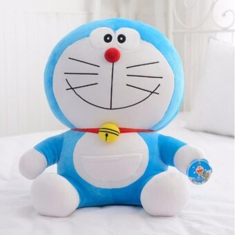 25cm Cute Doraemon Plush Cats Pillow Soft Stuffed Doll Toys ForKids Gifts