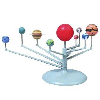 3D Solar System Planetarium Model Learning Science Kits EducationalAstronomy Model DIY Toy Gift by LuckyGirl Store