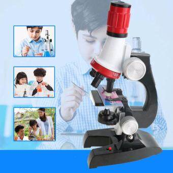 Advance Technologies Kids Educational 100-1200X Microscope Kit Science Toy