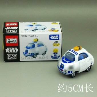 Alloy finished model toys car toys layers of stacked DMT DisneyStar Wars R2D2