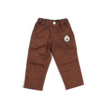 ANGRY BIRDS COTTON LONG PANTS (BROWN)