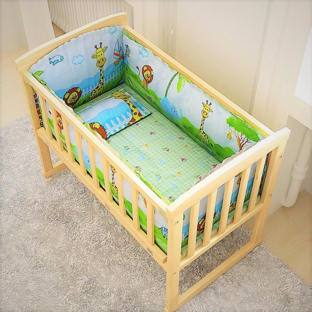 Crib for sale in davao city - Crib For Sale Malaysia Baby Crib Cradle Natural Multi Functional Baby Wooden Cot Style A