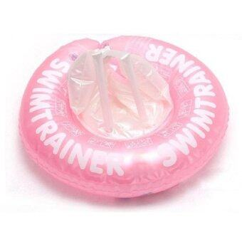 Baby Swimming Trainer Ring - Pink (0-2 years)