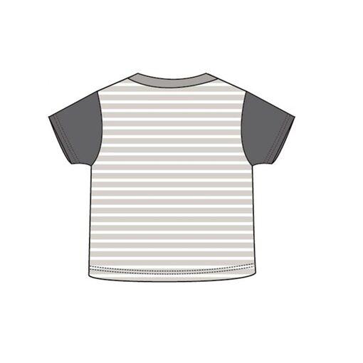 Barney Toddler Boy T-shirt 100% Cotton 1yrs to 3yrs - Grey Colour