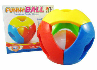 Baylor health hand rattles toy ball
