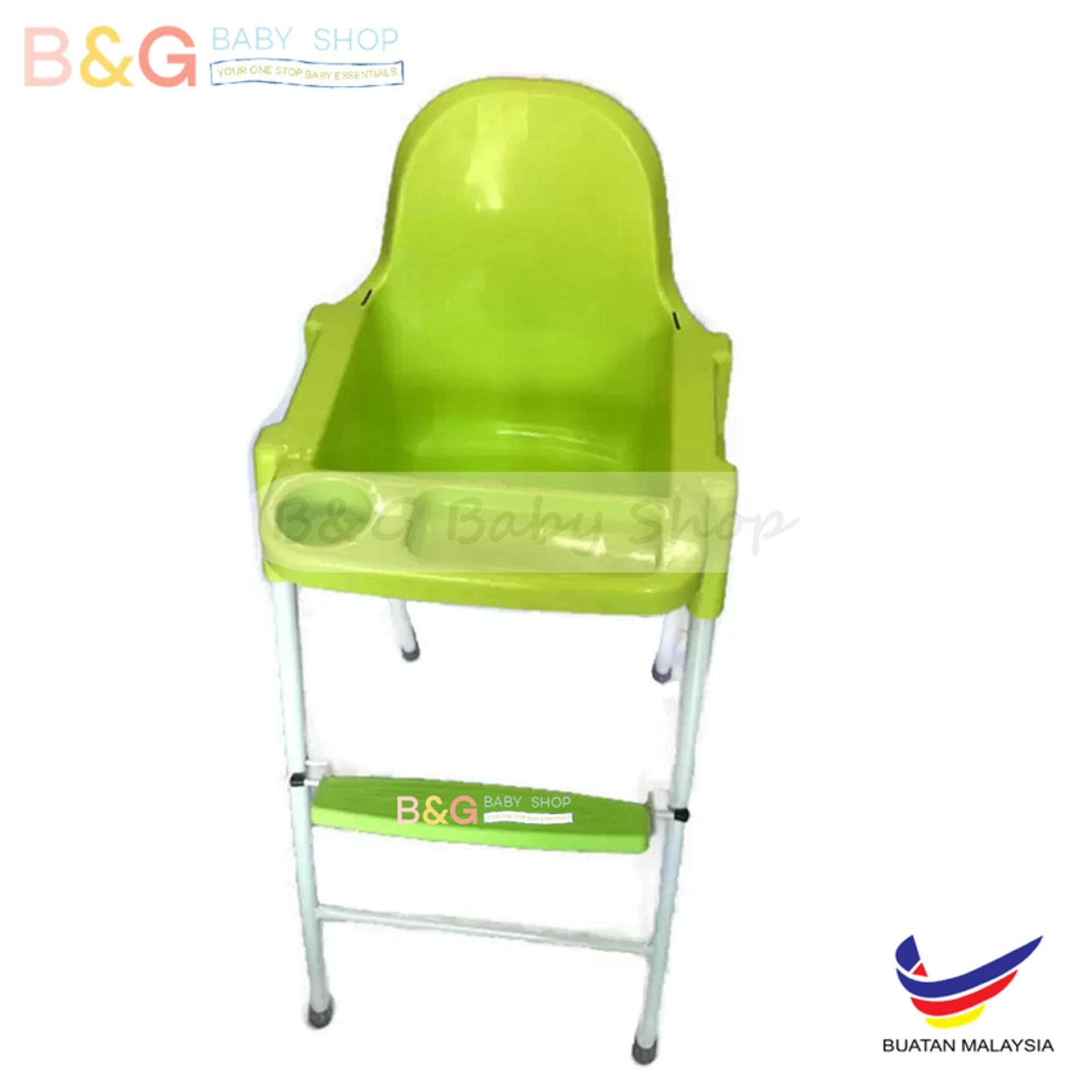 Baby eating chair attached to table - Bg Baby Local Premium Baby High Chair Green Colour Resturant Infant Feeding Baby High Chair
