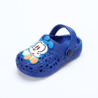 Bobdog children's sandals and slippers summer hole shoes childrennon-slip soft bottom slippers baby sandals men and women shoes