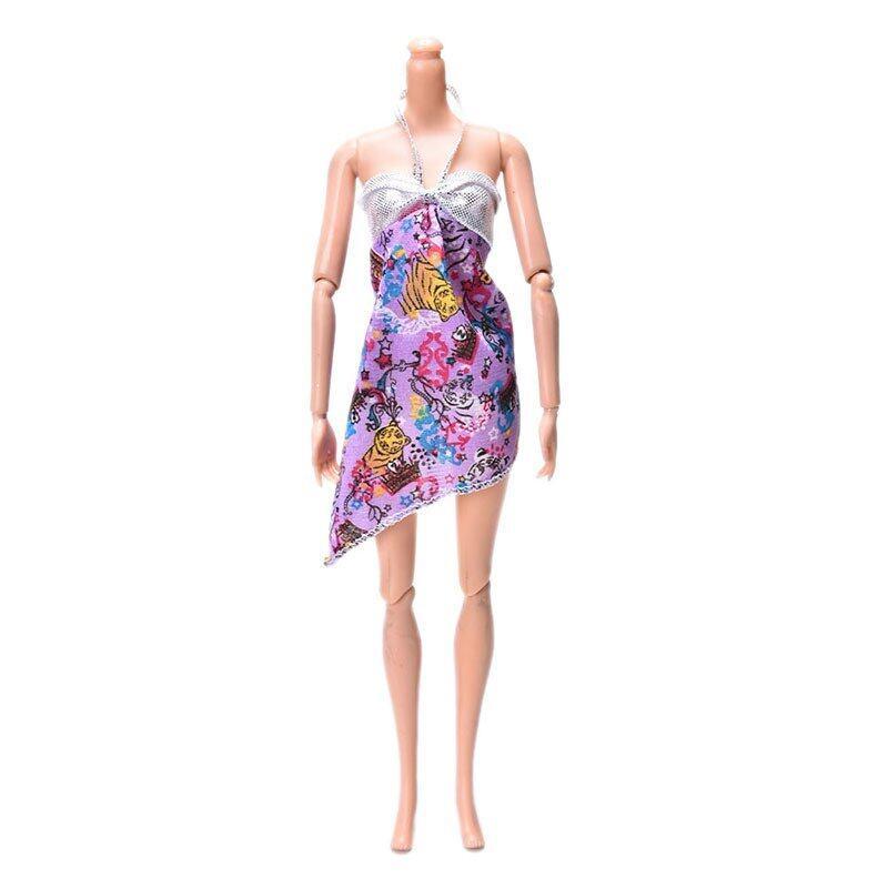 Kawat Gigi ROK untuk Barbie Doll Anak-anak Mainan Modis Baju Tidur Boneka Barbie Kain Mainan-Internasional