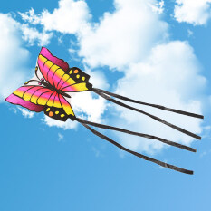 Hình ảnh Butterfly Children's Easy to Fly Single Line Kite Color Red - intl.