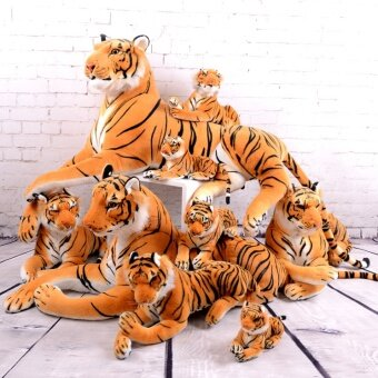Cloth doll small tiger pillow doll