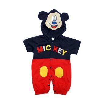 Costume CR1011 Mickey Mouse Design Romper