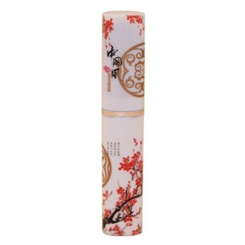 Creative Cutlery Fork Spoon Chopsticks Stainless Steel Dinnerware Se China'S Wind Blue And White Porcelain (Plum) - intl
