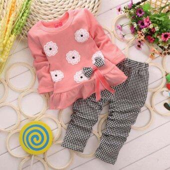 Cute Toddler Baby Girls T-shirt Top + Leggings Pants Outfit ClothesSet