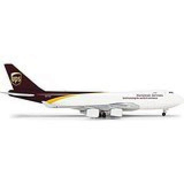 Herpa 502467 UPS United Parcel Service Boeing 747-200F 1:500 Scale - intl