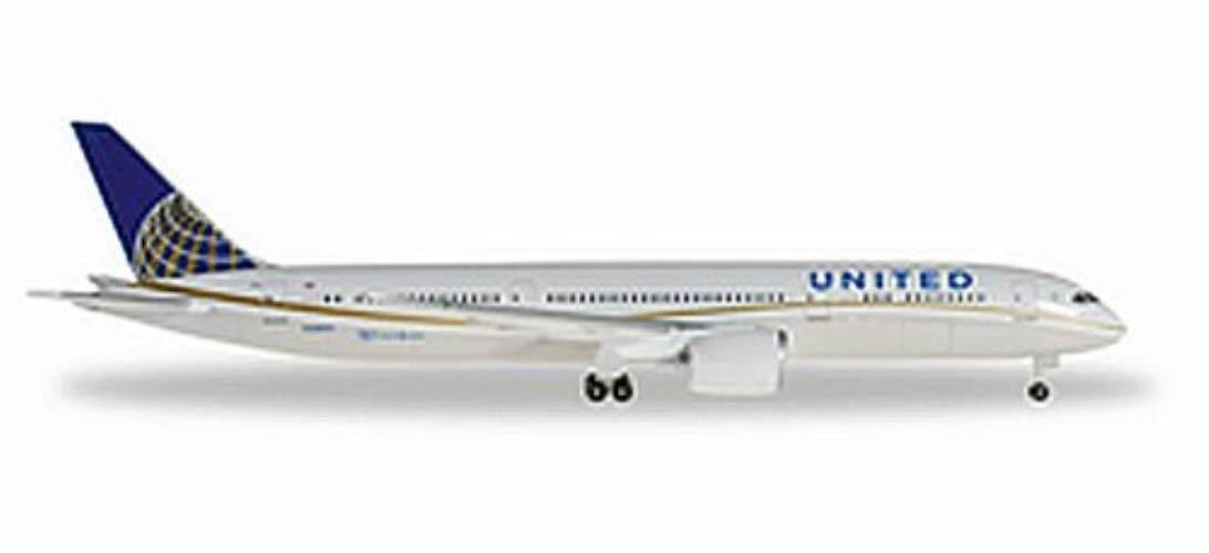 Herpa United 787-9 1/500 REG # N38950 Kendaraan-Internasional
